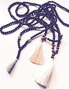 Originální náhrdelníky z korálků pro dámy i pro muže inspirované jógou
